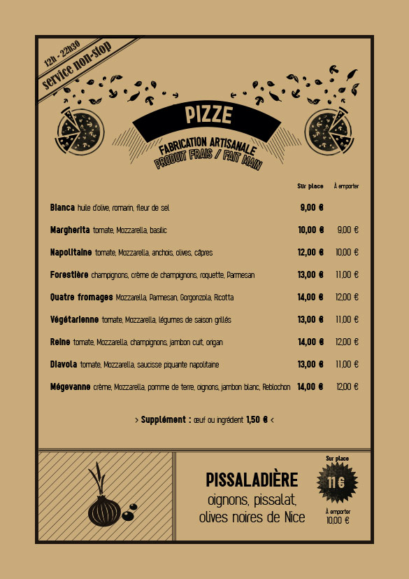 Spaggiari Megève - Pizzas