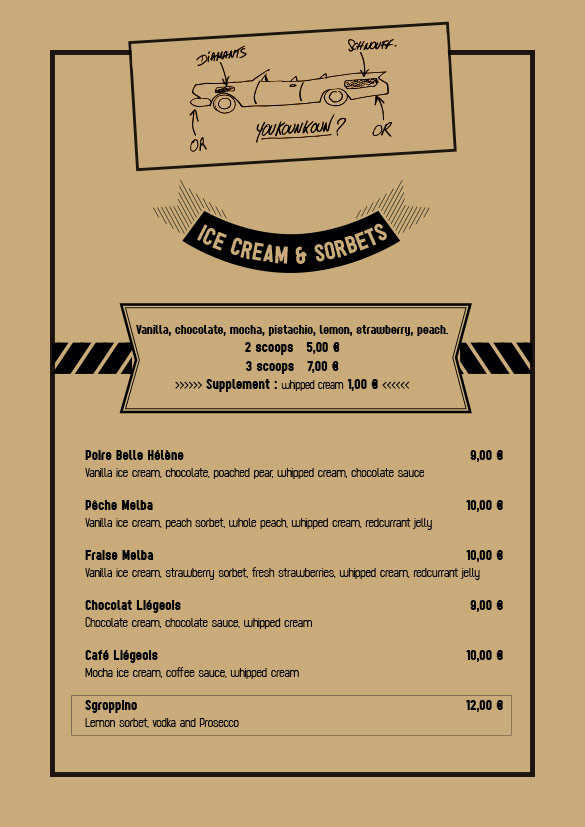 Spaggiari Megève - Ice Creams